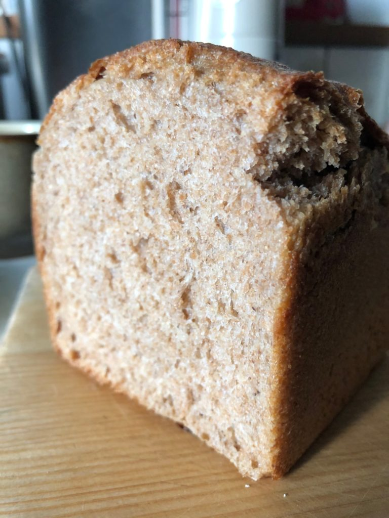 はるゆたか全粒粉食パン