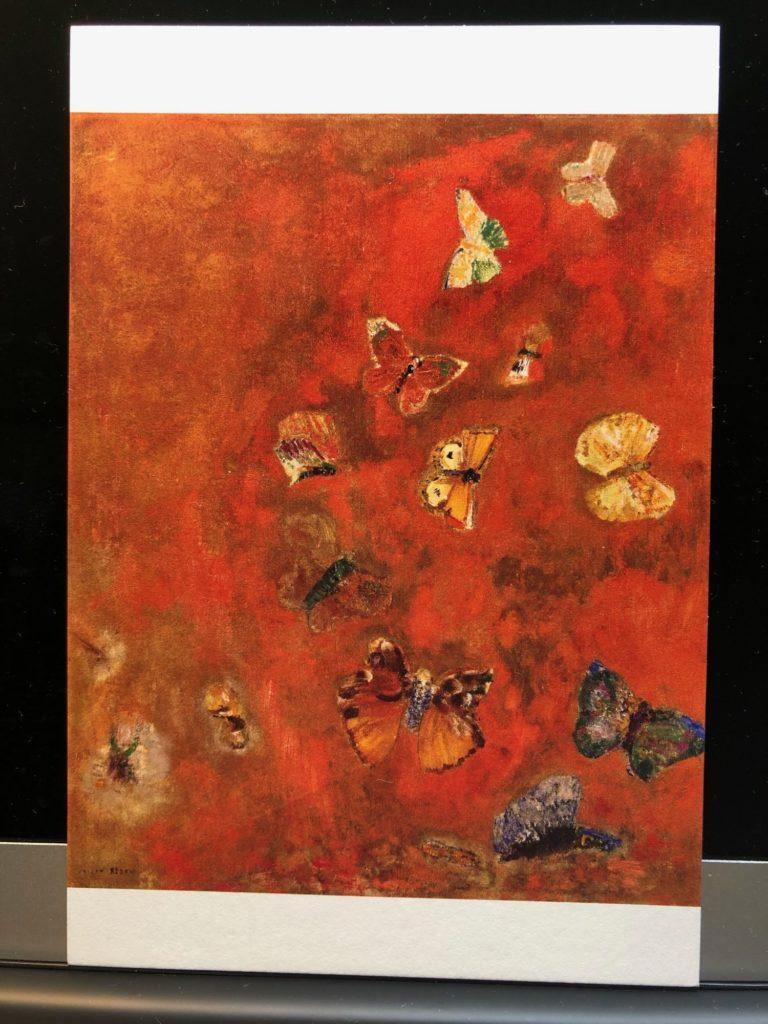 オディロン・ルドン「心に浮かぶ蝶」