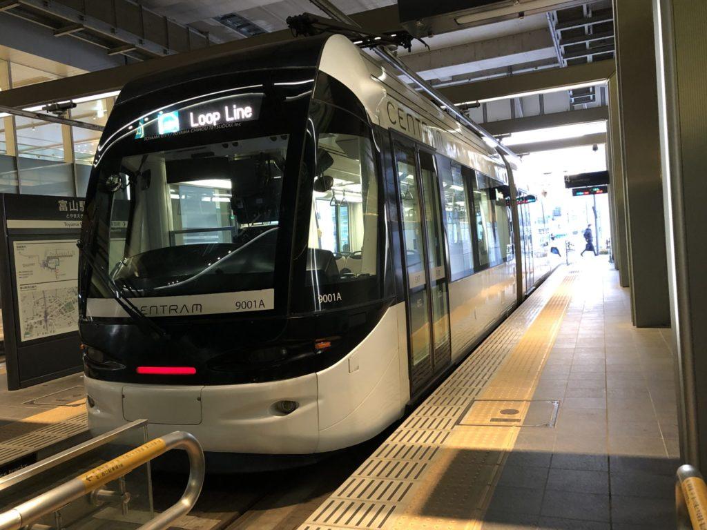 富山市の路面電車_環状線