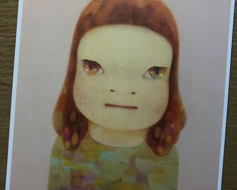 奈良美智「春少女」2012