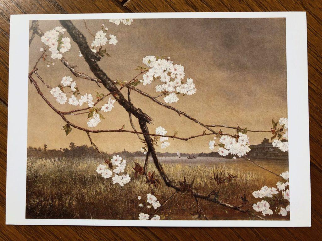 高橋由一「墨水桜花輝耀の景」