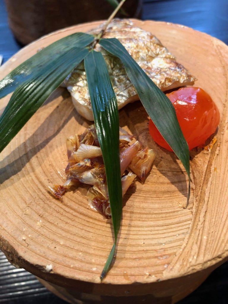和の食いがらし_焼物_太刀魚