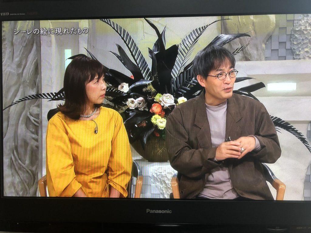 柴田アナウンサー@日曜美術館