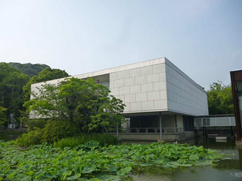 在りし日の神奈川県立近代美術館・鎌倉館