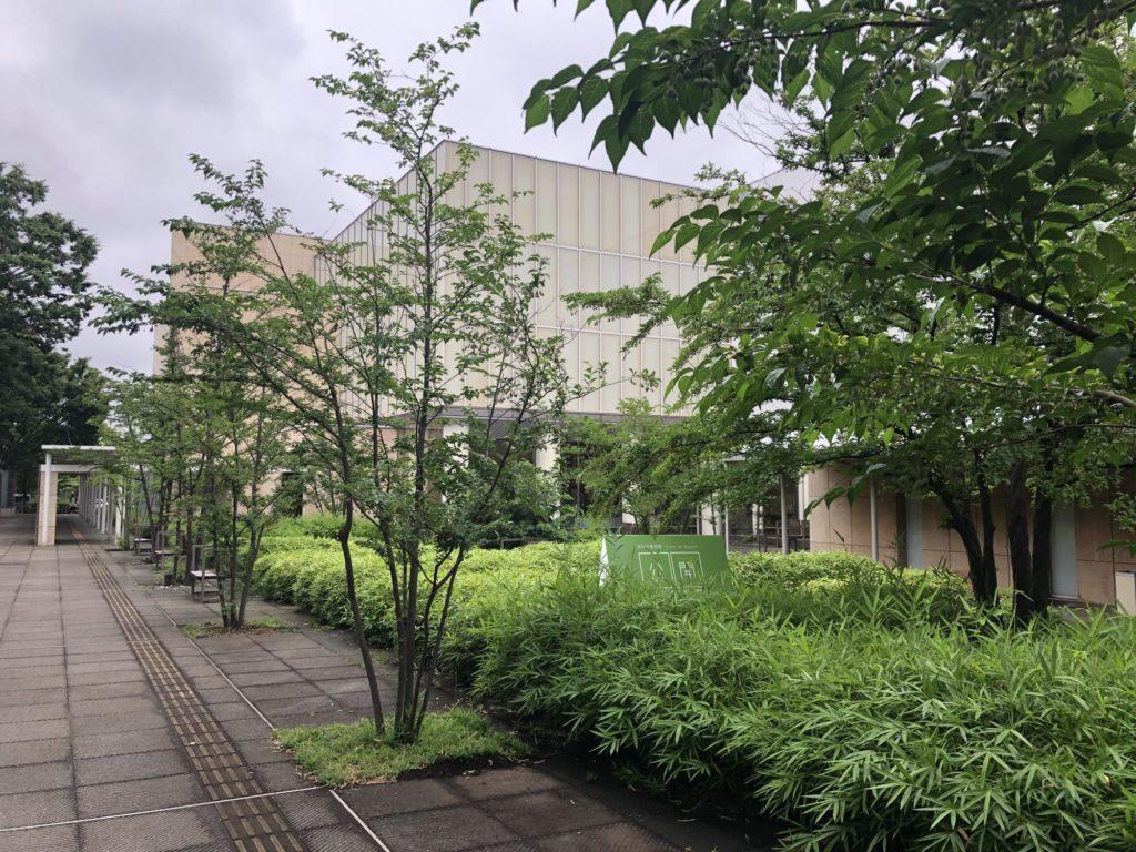 府中市美術館_外観
