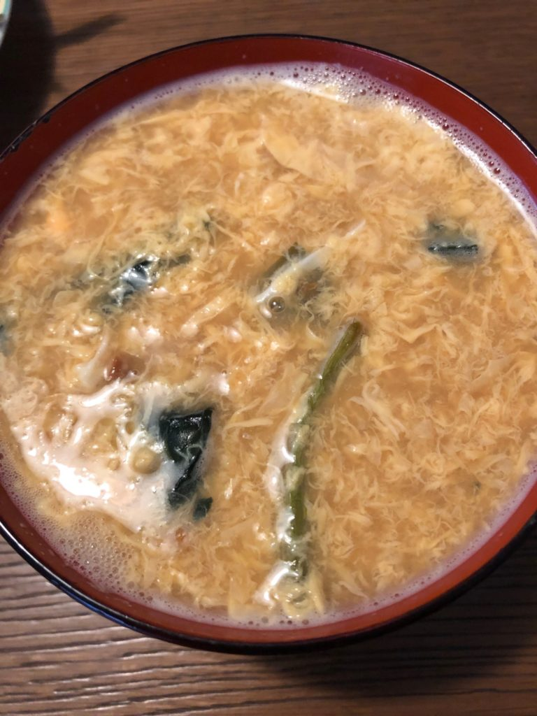 KitchenBee_味噌汁_ほうれん草アレンジ