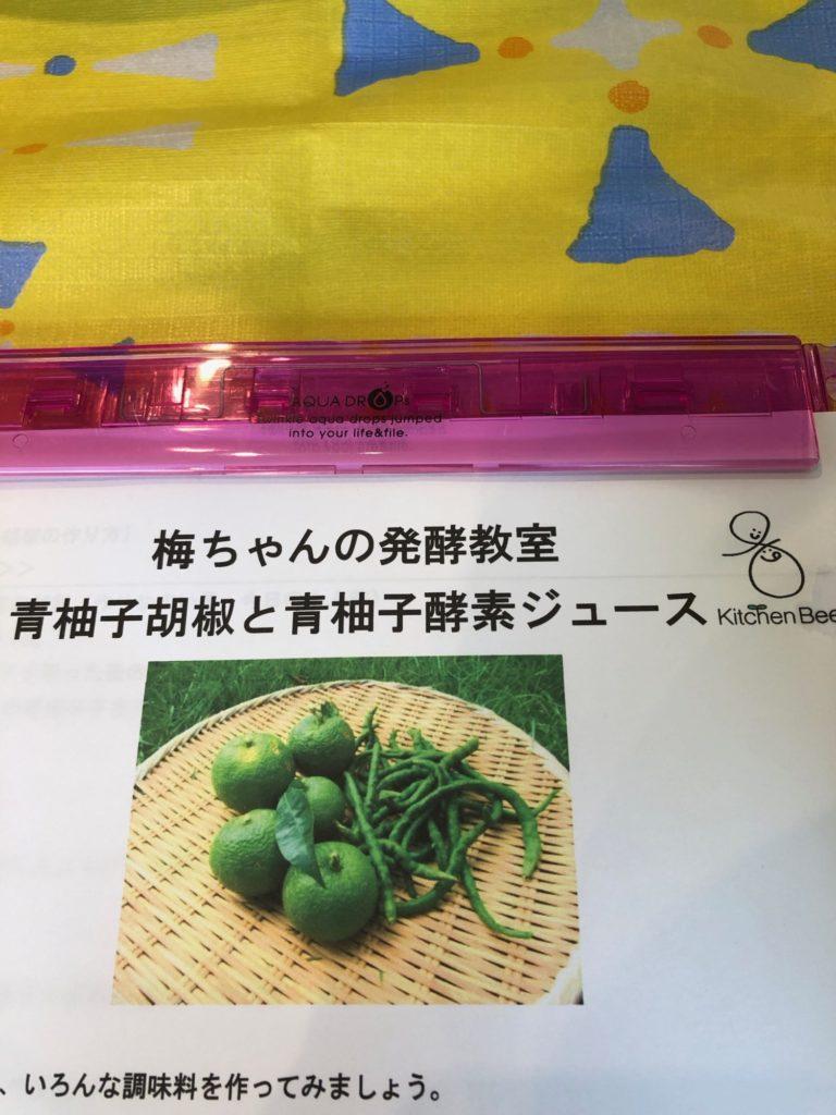 うめちゃんの発酵教室